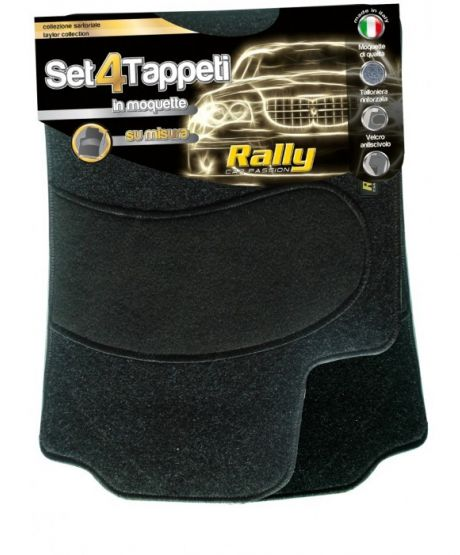 Serie Tappeti Fiat 500 rally