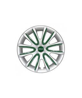 Set Coppe Ruota FARAD Freewheeling Silver + Inserti Green