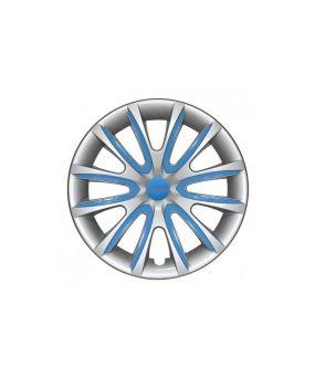 Set Coppe Ruota FARAD Freewheeling Silver + Inserti Blue