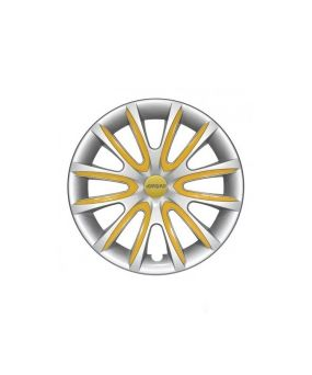 Set Coppe Ruota FARAD Freewheeling Silver + Inserti Yellow