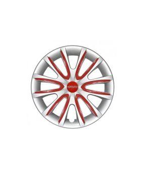 Set Coppe Ruota FARAD Freewheeling Silver + Inserti Red