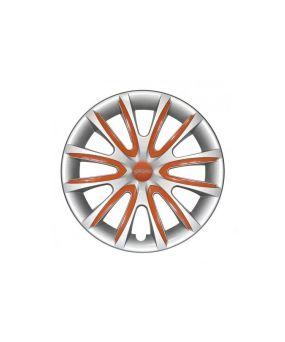 Set Coppe Ruota FARAD Freewheeling Silver + Inserti Orange