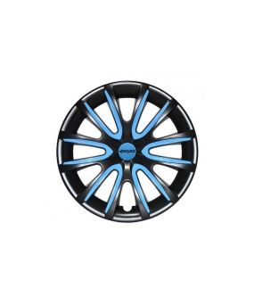 Set Coppe Ruota FARAD Freewheeling Black + Inserti Blue