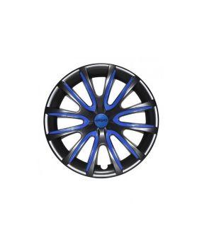 Set Coppe Ruota FARAD Freewheeling Black + Inserti Dark Blue